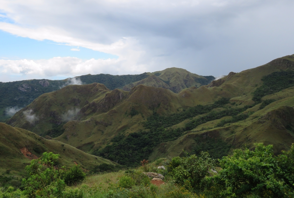 A photo of mountains whilst birdwatching Altos De Campana National Park, Panama