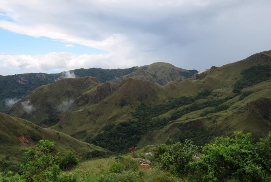 A photo of mountains whilst birdwatching Altos De Campana National Park, Panama
